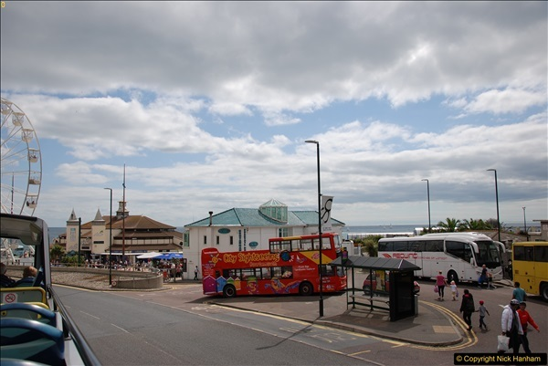 2017-08-12 Yellow Buses Open Top Bus Ride - Poole Quay - Bournemouth - Poole Quay.  (116)116