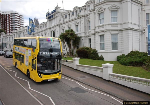 2017-08-12 Yellow Buses Open Top Bus Ride - Poole Quay - Bournemouth - Poole Quay.  (129)129