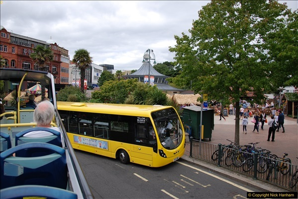 2017-08-12 Yellow Buses Open Top Bus Ride - Poole Quay - Bournemouth - Poole Quay.  (147)147
