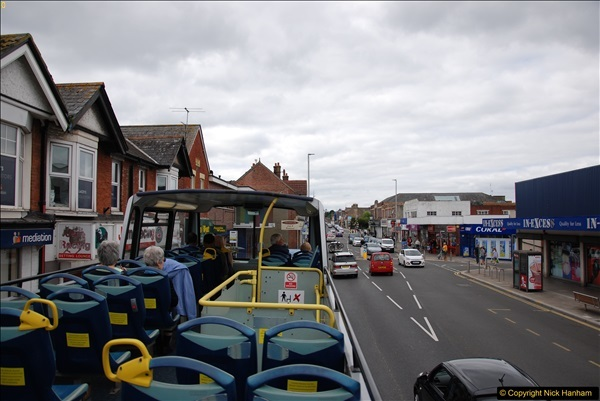 2017-08-12 Yellow Buses Open Top Bus Ride - Poole Quay - Bournemouth - Poole Quay.  (237)237