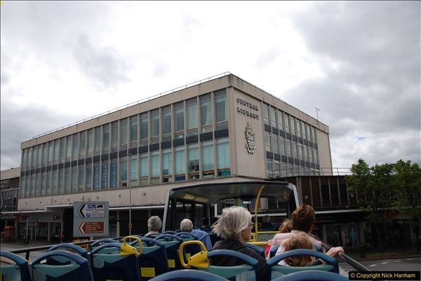 2017-08-12 Yellow Buses Open Top Bus Ride - Poole Quay - Bournemouth - Poole Quay.  (316)316