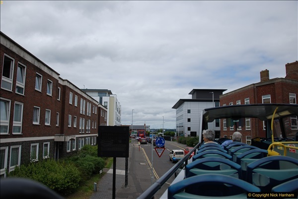 2017-08-12 Yellow Buses Open Top Bus Ride - Poole Quay - Bournemouth - Poole Quay.  (345)345