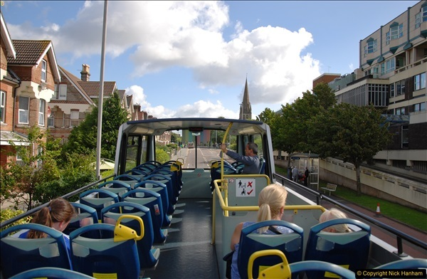 2017-08-12 Yellow Buses Open Top Bus Ride - Poole Quay - Bournemouth - Poole Quay.  (431)431