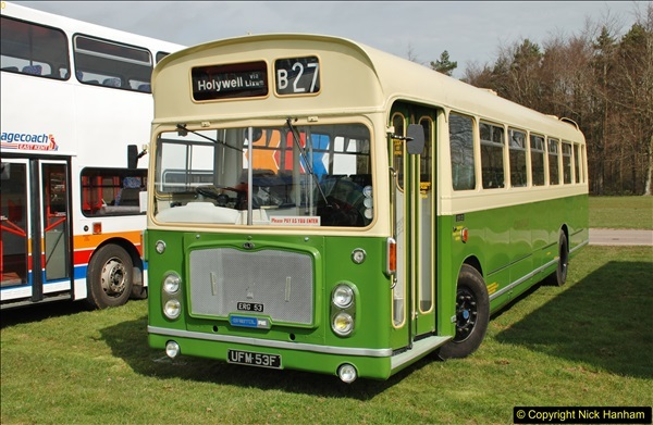 2018-04-07 South East Bus Festival @ Kent Showground, Detling, Nr. Maidstone, Kent.  (17)017