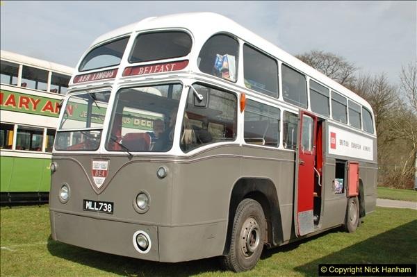 2018-04-07 South East Bus Festival @ Kent Showground, Detling, Nr. Maidstone, Kent.  (30)030