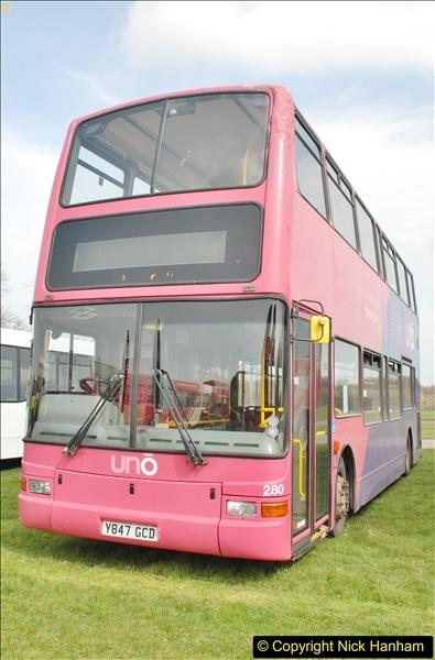 2018-04-07 South East Bus Festival @ Kent Showground, Detling, Nr. Maidstone, Kent.  (50)050