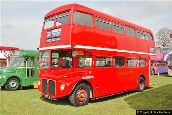 2018-04-07 South East Bus Festival @ Kent Showground, Detling, Nr. Maidstone, Kent.  (57)057