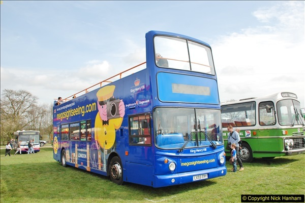 2018-04-07 South East Bus Festival @ Kent Showground, Detling, Nr. Maidstone, Kent.  (86)086