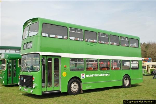 2018-04-07 South East Bus Festival @ Kent Showground, Detling, Nr. Maidstone, Kent.  (87)087