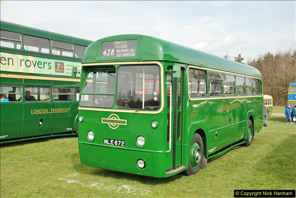 2018-04-07 South East Bus Festival @ Kent Showground, Detling, Nr. Maidstone, Kent.  (88)088