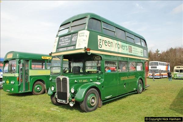 2018-04-07 South East Bus Festival @ Kent Showground, Detling, Nr. Maidstone, Kent.  (92)092