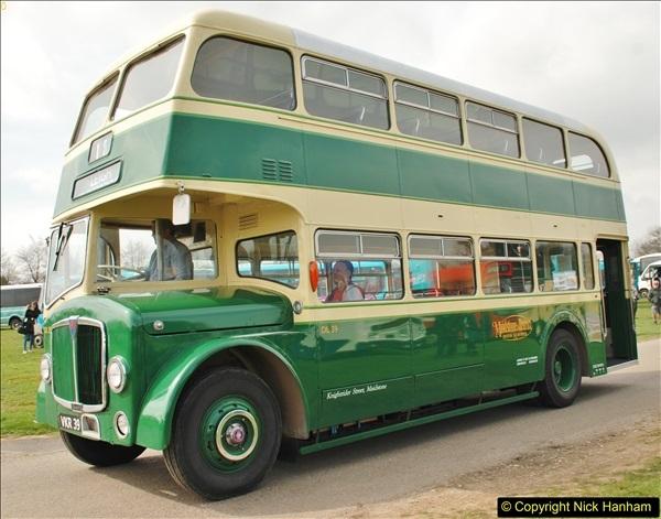 2018-04-07 South East Bus Festival @ Kent Showground, Detling, Nr. Maidstone, Kent.  (93)093