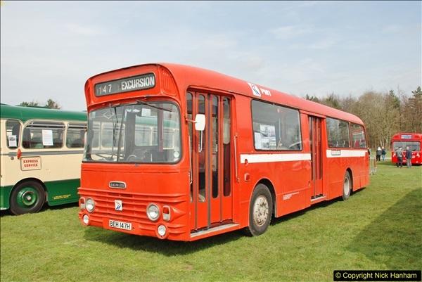 2018-04-07 South East Bus Festival @ Kent Showground, Detling, Nr. Maidstone, Kent.  (95)095
