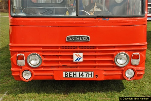 2018-04-07 South East Bus Festival @ Kent Showground, Detling, Nr. Maidstone, Kent.  (96)096