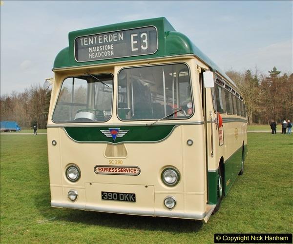 2018-04-07 South East Bus Festival @ Kent Showground, Detling, Nr. Maidstone, Kent.  (98)098