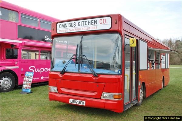 2018-04-07 South East Bus Festival @ Kent Showground, Detling, Nr. Maidstone, Kent.  (105)105