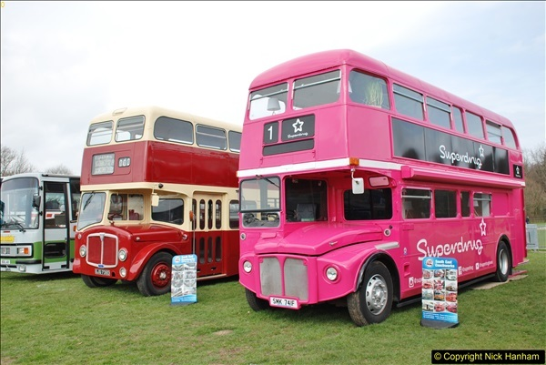 2018-04-07 South East Bus Festival @ Kent Showground, Detling, Nr. Maidstone, Kent.  (106)106