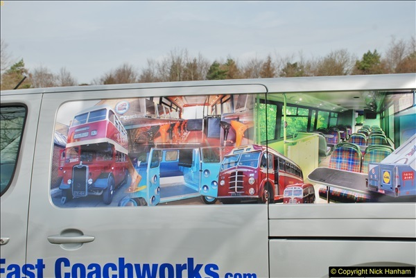 2018-04-07 South East Bus Festival @ Kent Showground, Detling, Nr. Maidstone, Kent.  (108)108