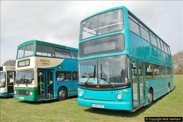 2018-04-07 South East Bus Festival @ Kent Showground, Detling, Nr. Maidstone, Kent.  (115)115