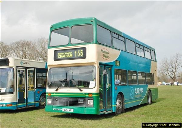 2018-04-07 South East Bus Festival @ Kent Showground, Detling, Nr. Maidstone, Kent.  (116)116