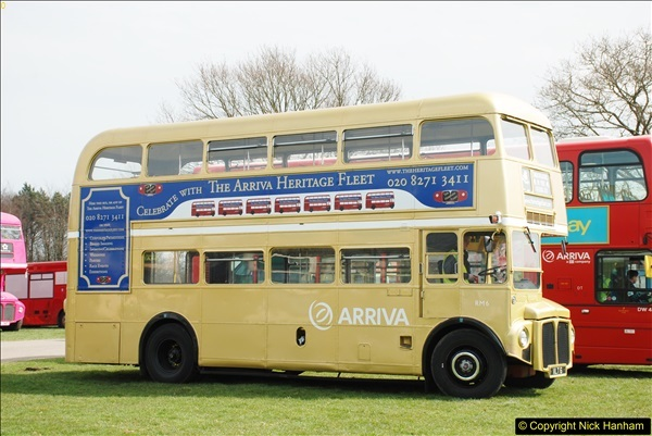 2018-04-07 South East Bus Festival @ Kent Showground, Detling, Nr. Maidstone, Kent.  (125)125
