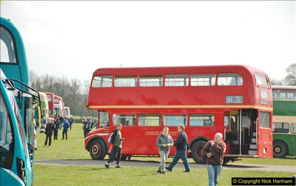 2018-04-07 South East Bus Festival @ Kent Showground, Detling, Nr. Maidstone, Kent.  (129)129