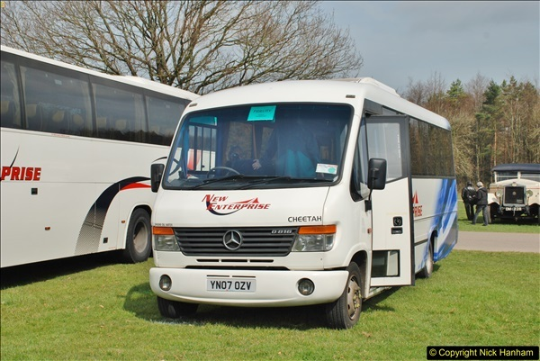 2018-04-07 South East Bus Festival @ Kent Showground, Detling, Nr. Maidstone, Kent.  (130)130