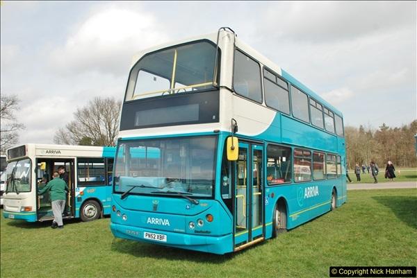 2018-04-07 South East Bus Festival @ Kent Showground, Detling, Nr. Maidstone, Kent.  (131)131