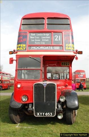 2018-04-07 South East Bus Festival @ Kent Showground, Detling, Nr. Maidstone, Kent.  (168)168