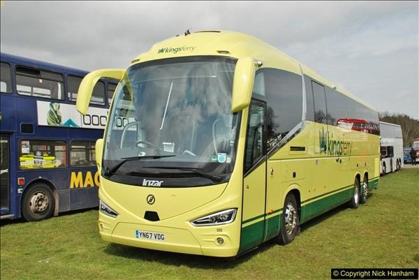 2018-04-07 South East Bus Festival @ Kent Showground, Detling, Nr. Maidstone, Kent.  (195)195
