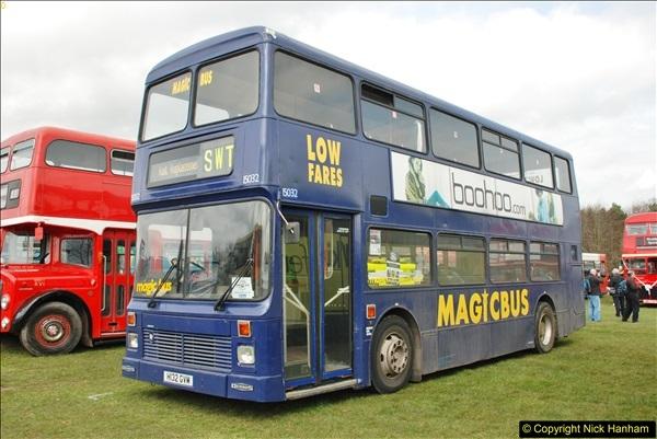2018-04-07 South East Bus Festival @ Kent Showground, Detling, Nr. Maidstone, Kent.  (196)196