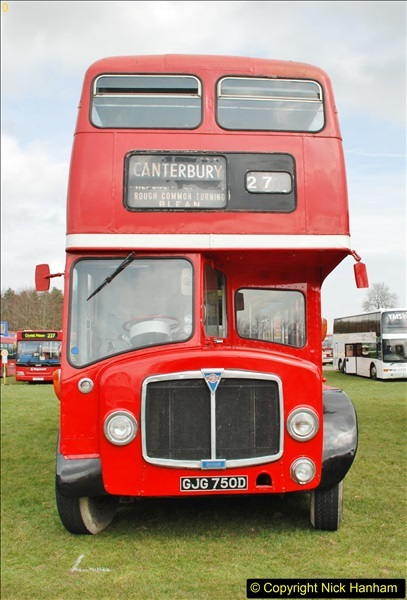 2018-04-07 South East Bus Festival @ Kent Showground, Detling, Nr. Maidstone, Kent.  (199)199