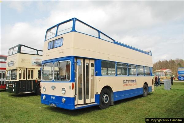 2018-04-07 South East Bus Festival @ Kent Showground, Detling, Nr. Maidstone, Kent.  (203)203