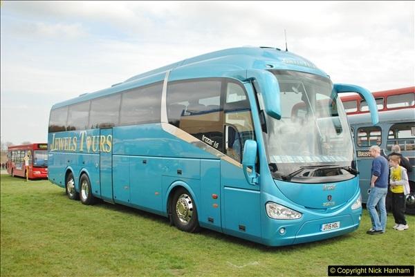 2018-04-07 South East Bus Festival @ Kent Showground, Detling, Nr. Maidstone, Kent.  (204)204
