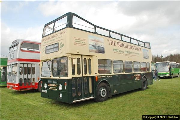 2018-04-07 South East Bus Festival @ Kent Showground, Detling, Nr. Maidstone, Kent.  (205)205