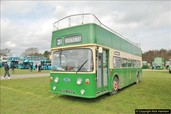 2018-04-07 South East Bus Festival @ Kent Showground, Detling, Nr. Maidstone, Kent.  (208)208