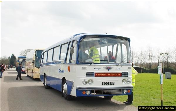 2018-04-07 South East Bus Festival @ Kent Showground, Detling, Nr. Maidstone, Kent.  (209)209