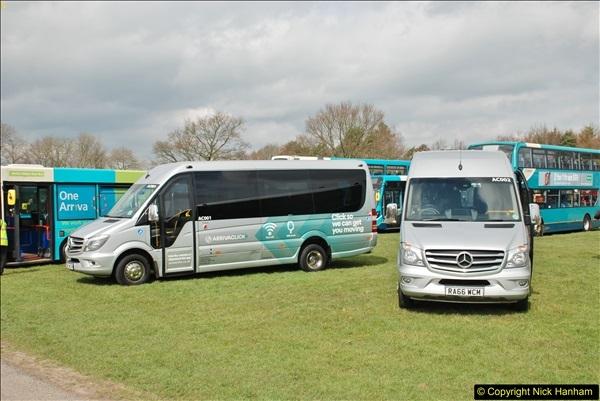 2018-04-07 South East Bus Festival @ Kent Showground, Detling, Nr. Maidstone, Kent.  (212)212