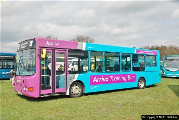 2018-04-07 South East Bus Festival @ Kent Showground, Detling, Nr. Maidstone, Kent.  (216)216