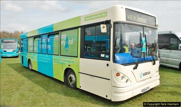 2018-04-07 South East Bus Festival @ Kent Showground, Detling, Nr. Maidstone, Kent.  (217)217