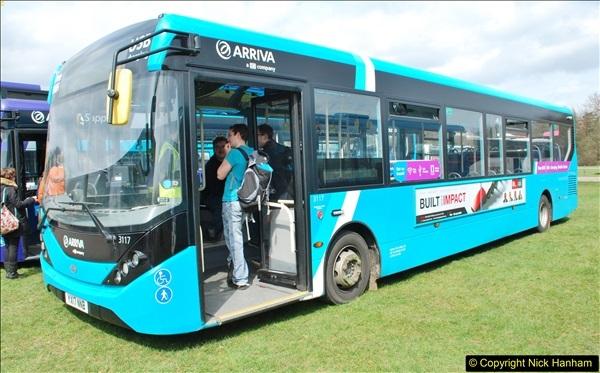 2018-04-07 South East Bus Festival @ Kent Showground, Detling, Nr. Maidstone, Kent.  (222)222