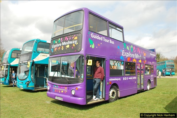 2018-04-07 South East Bus Festival @ Kent Showground, Detling, Nr. Maidstone, Kent.  (226)226