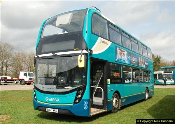 2018-04-07 South East Bus Festival @ Kent Showground, Detling, Nr. Maidstone, Kent.  (227)227