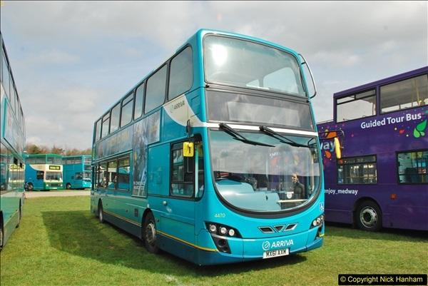 2018-04-07 South East Bus Festival @ Kent Showground, Detling, Nr. Maidstone, Kent.  (228)228