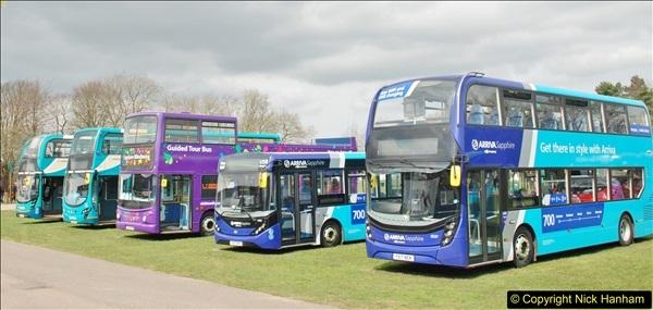 2018-04-07 South East Bus Festival @ Kent Showground, Detling, Nr. Maidstone, Kent.  (229)229