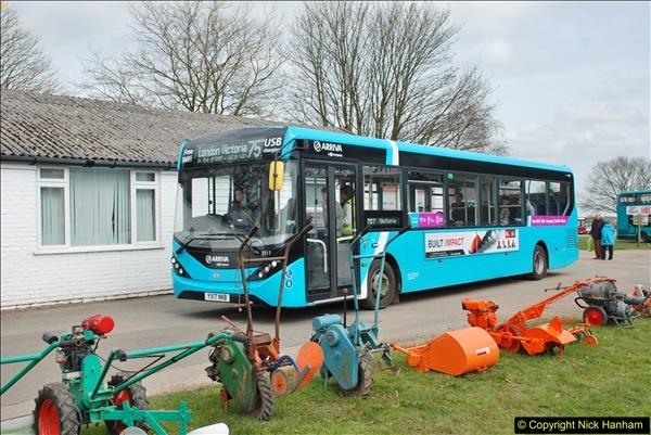 2018-04-07 South East Bus Festival @ Kent Showground, Detling, Nr. Maidstone, Kent.  (248)248