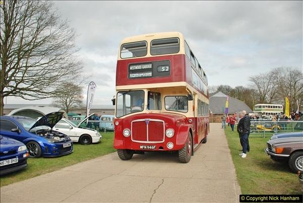 2018-04-07 South East Bus Festival @ Kent Showground, Detling, Nr. Maidstone, Kent.  (261)261