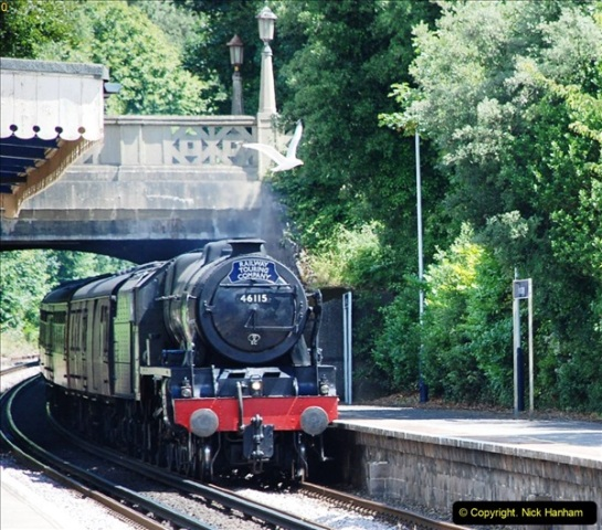 2016-07-14 The Swanage Belle @ Parkstone. Poole, Dorset.  (1)076