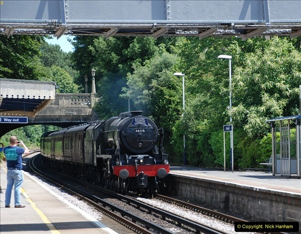 2016-07-14 The Swanage Belle @ Parkstone. Poole, Dorset.  (3)078