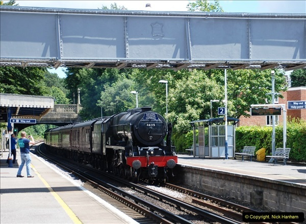 2016-07-14 The Swanage Belle @ Parkstone. Poole, Dorset.  (4)079